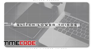glitch-modern-lower-thirds