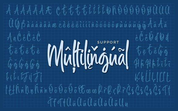 Midellion Script Font