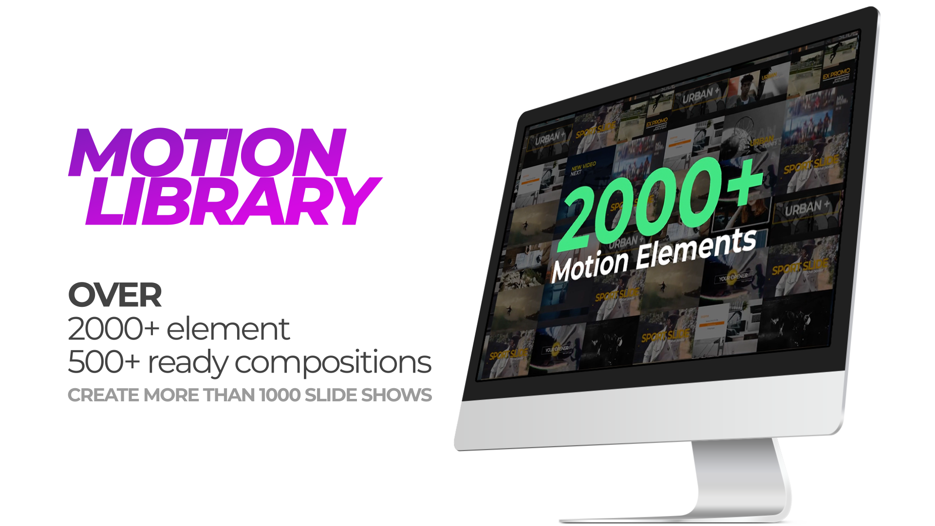 Motion Library Pack