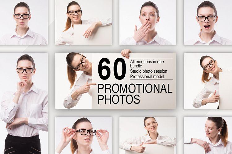 Promotional photos casual girl