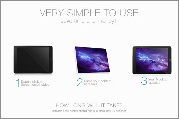 ipad / Tablet Mockup
