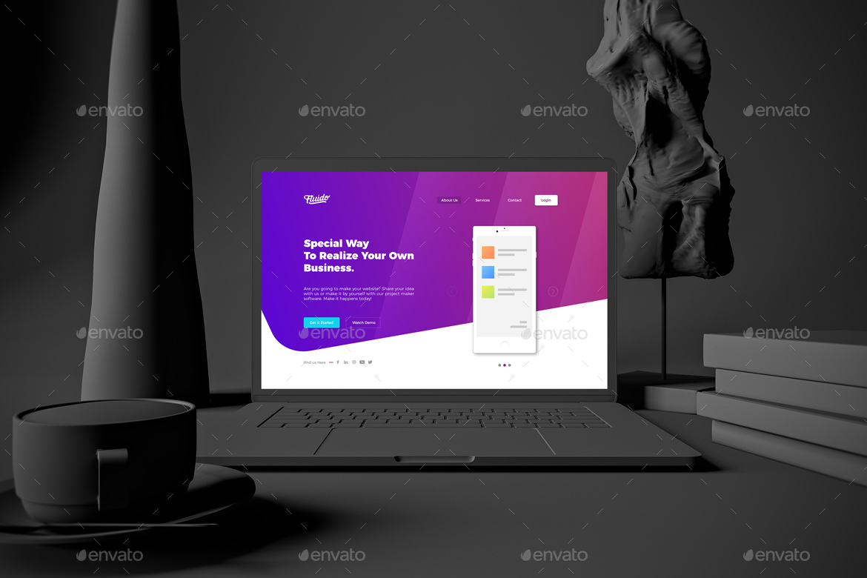 Dark MacBook Pro