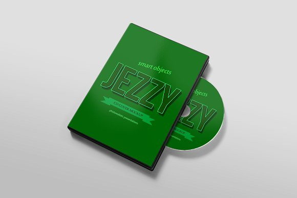 CD Cover Mockups