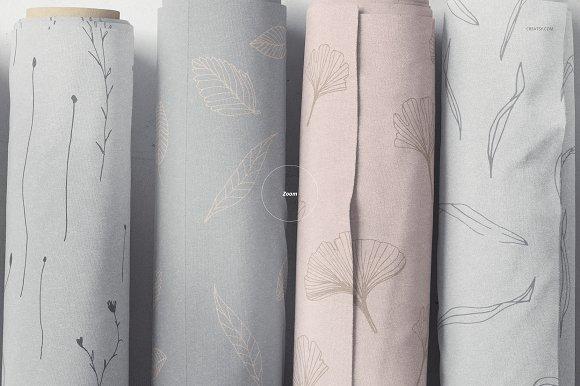 Fabric Rolls Mockup 20/FF v.6