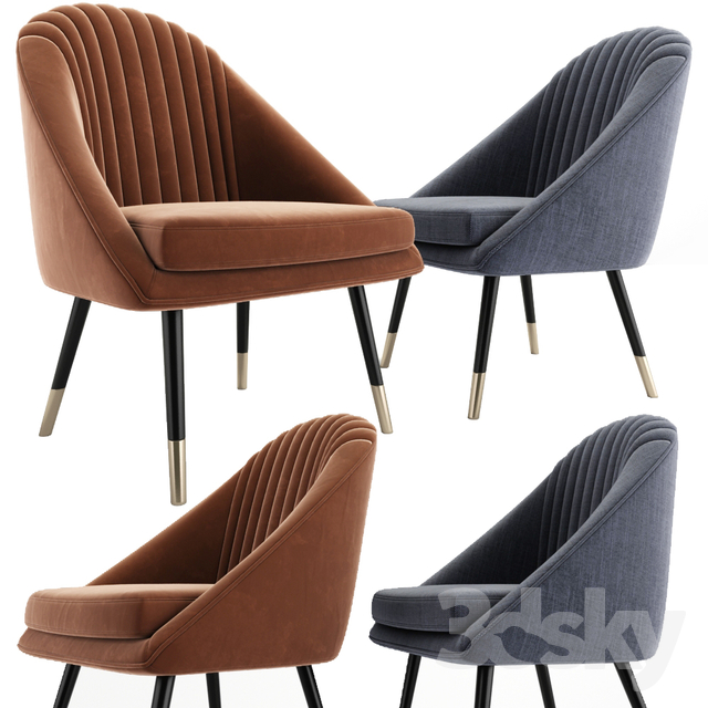 Cult Audrey Occasional Tub Lounge Chair