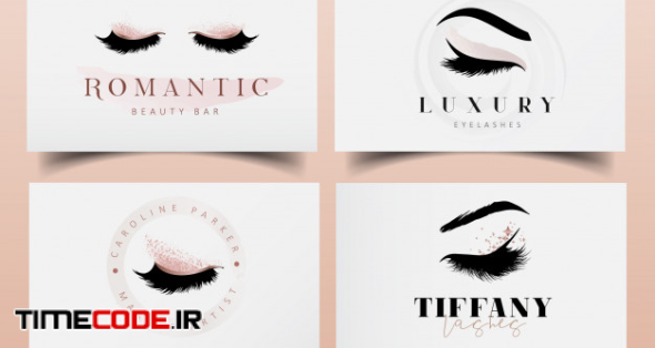 Eyelashes Logo Design