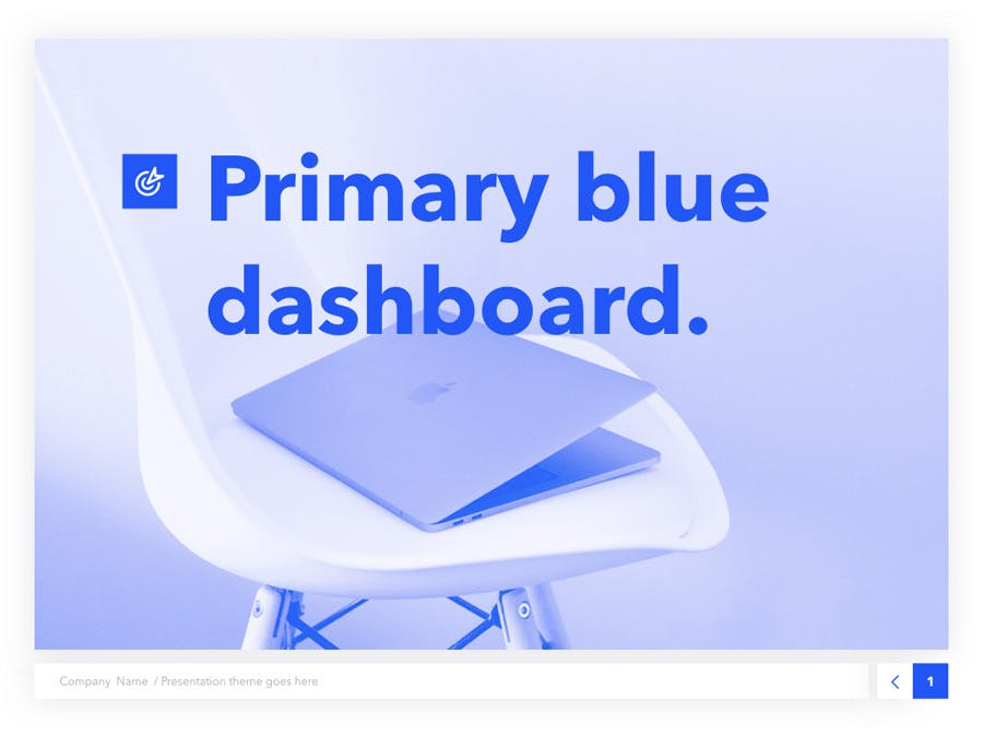 Prime Blue PowerPoint Template