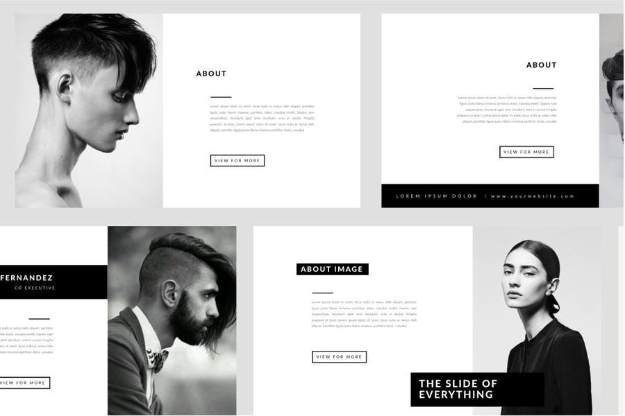 Portofolio Agency - Powerpoint