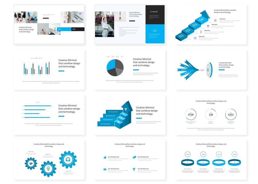 Montreal - Powerpoint Template