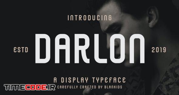 Darlon - Sport Display Typeface