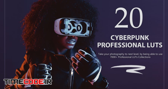 20 Cyberpunk LUTs Pack
