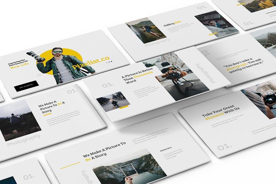 Pixelist - Photography Powerpoint Template