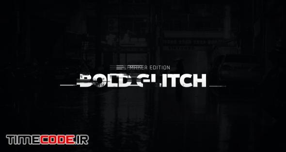Titles Animator - Bold Glitch