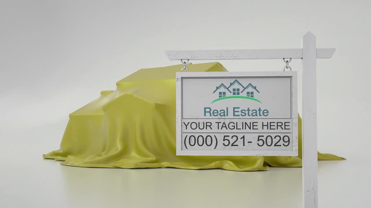 Real Estate Sign Logo