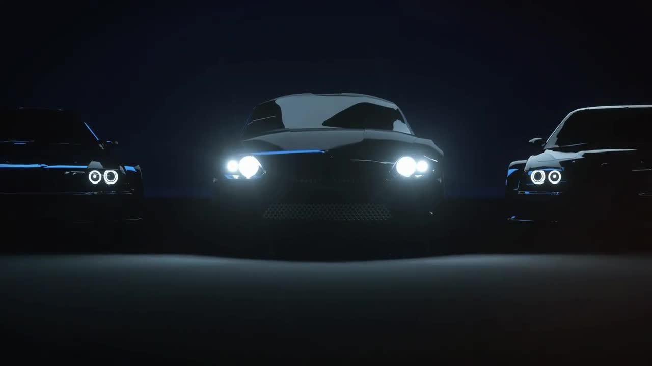 Car Logo//Racing Reveal