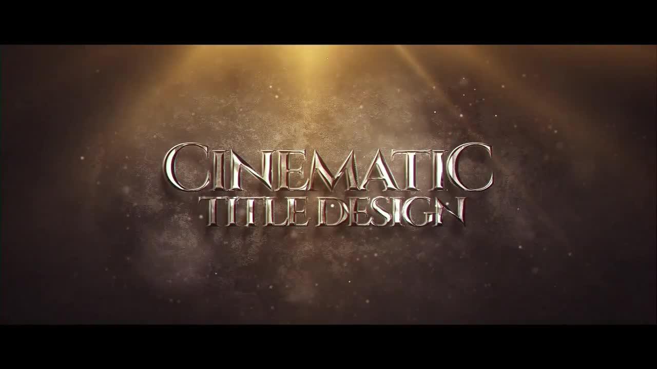 Cinematic Title