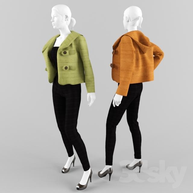 входа картинка куртки манекен случай