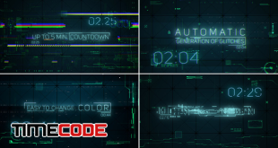 hitech-glitches-countdown-and-titles