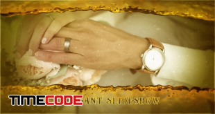 romantic-gold-wedding-slideshow