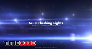Sci-Fi Flashing Lights