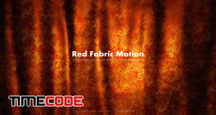 Red Golden Fabric 3