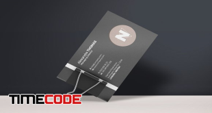 Business Card Mock-Up 5
