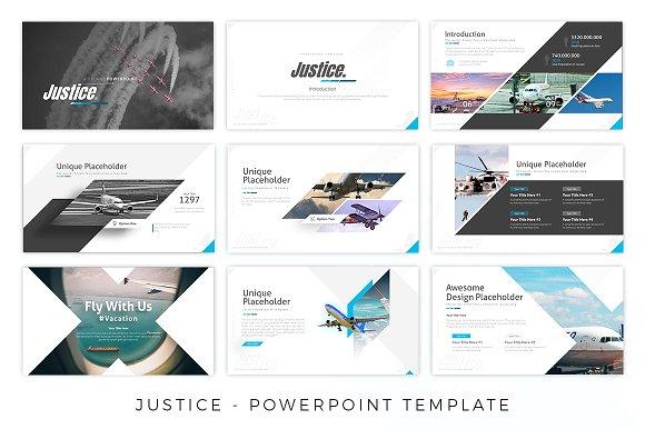 Justice - Airplane Presentation