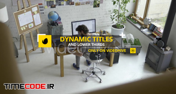 Dynamic Titles and Lower Thirds