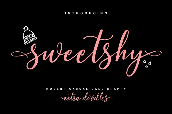 Sweetshy Font Collection