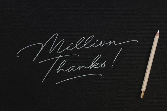 Excellent Signature Font