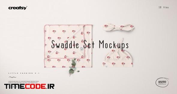 Swaddle Set Mockup Set
