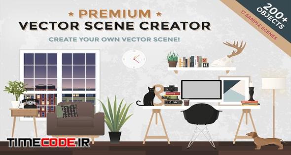 Premium Vector Scene Creator