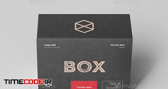 Carton Box Mock-up 135x105x60
