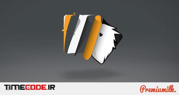 Logo Sting Page Flip