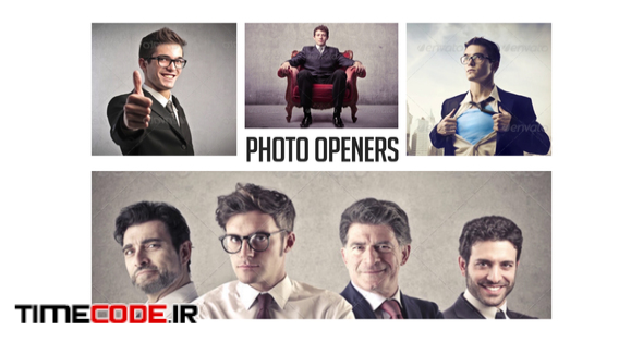 Corporate Photo Openers - Logo Reveal