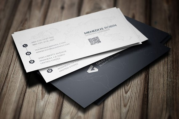 Simple Business Card Design Vol-01