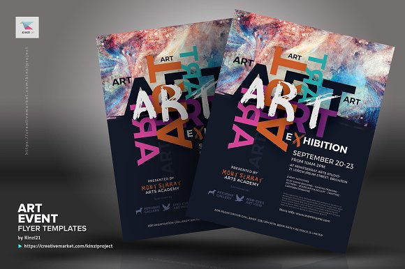 Art Event Flyer Templates