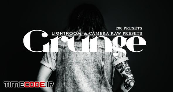 Lr & Ps Presets ACR - Grunge