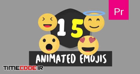 15 Animated Emojis