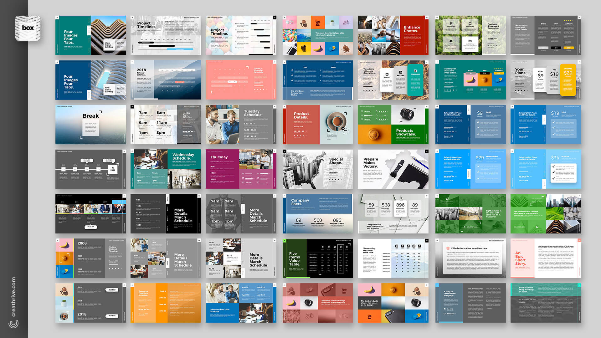 2018 PowerPoints Bundle