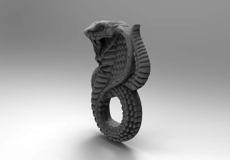 PENDANT SNAKE 3 3D print model