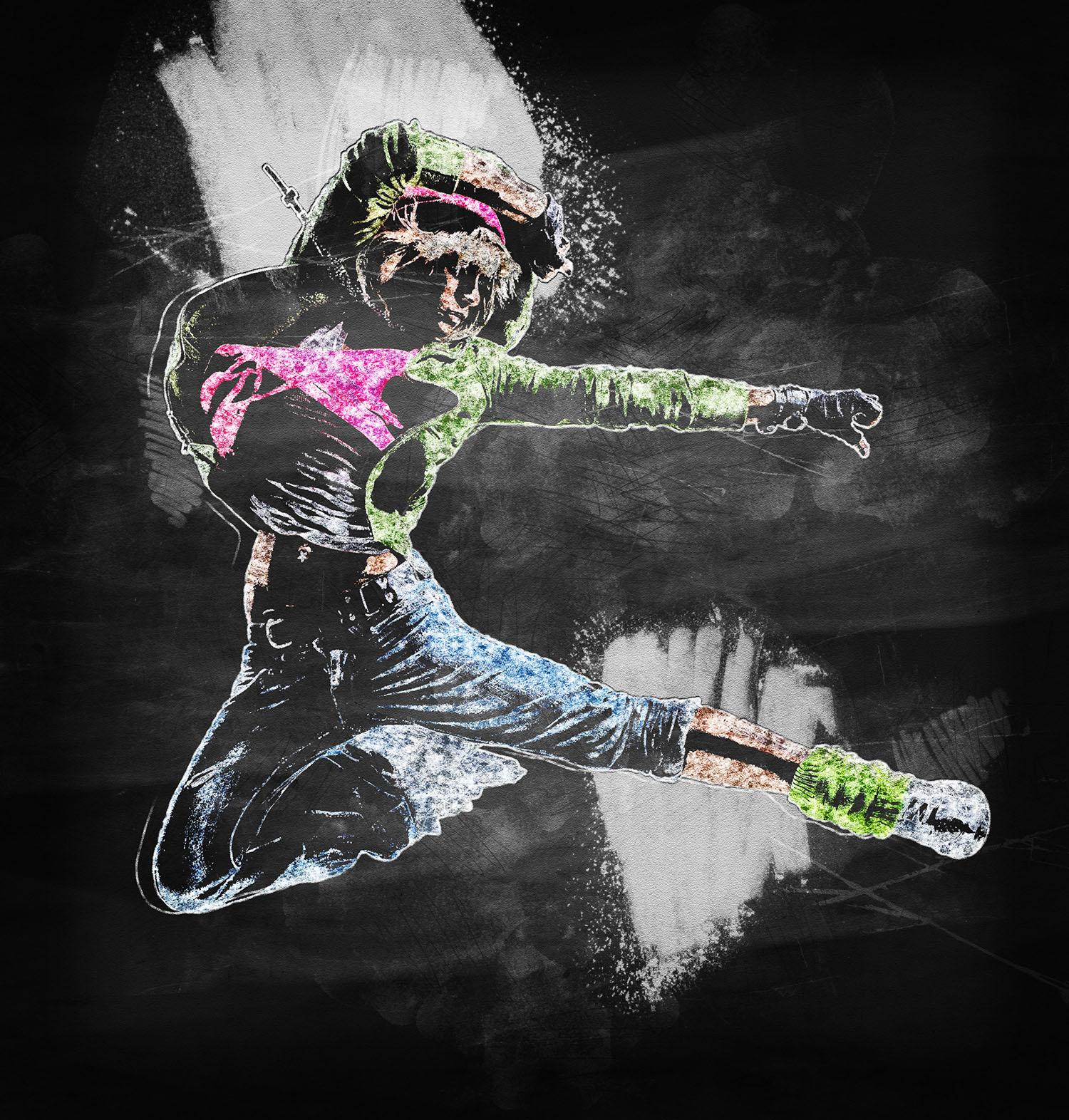 Chalk Art Photoshop Action