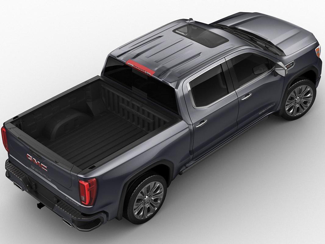 GMC Sierra Denali 2019 3D