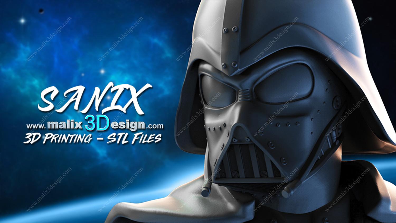 Darth Vader - Starwars 3D printable Ready