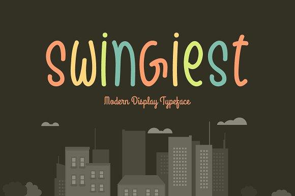 Swingiest Typeface