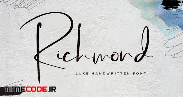 Richmond Luxury Font