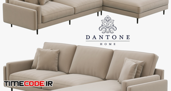 Dantone Home Sofa Portry Modular Two-Section