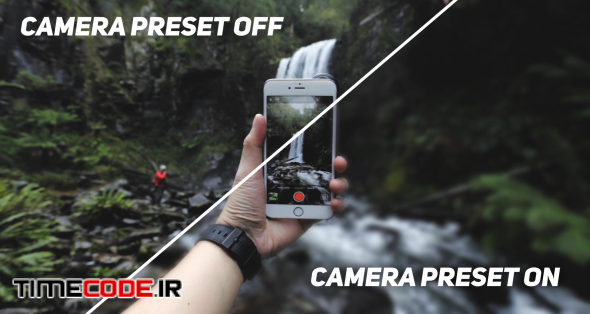 Camera Presets Pack