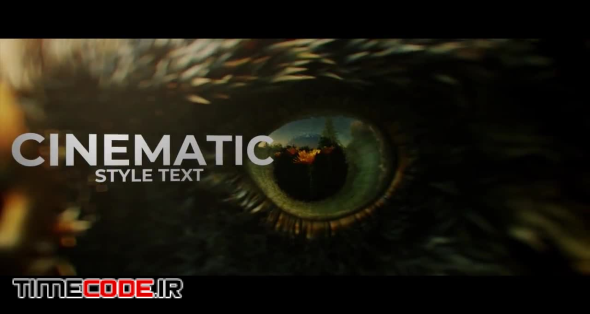 Cinematic Text Editor