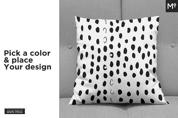 Pillow on Sofa Mock-ups Set